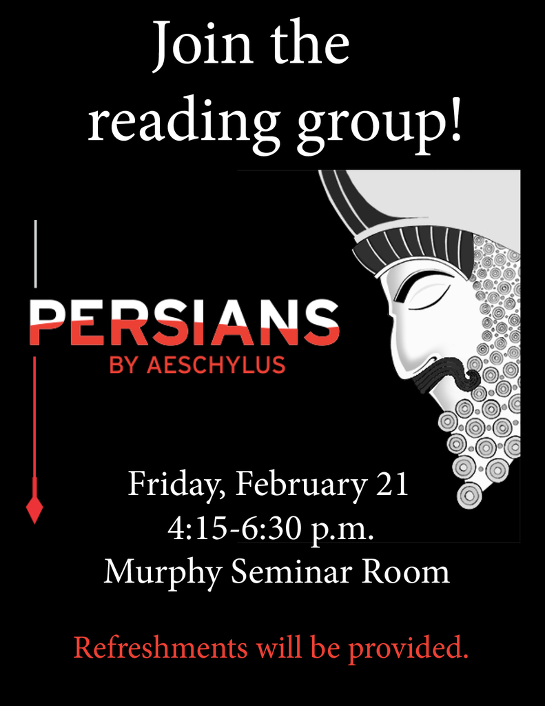 Persians Book Group Flyer